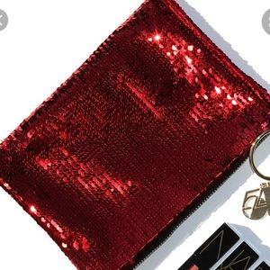 NARS studio 54 red sequin pouch